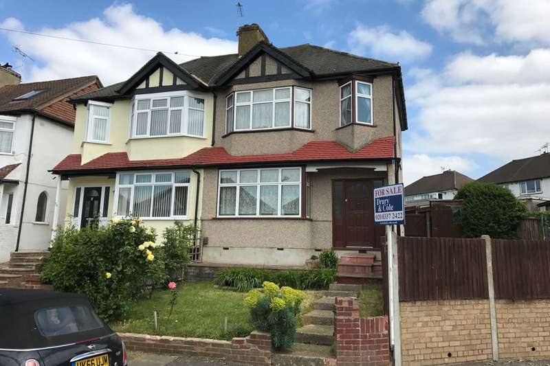 3 Bedrooms Semi Detached House for sale in Carlingford Road, Morden
