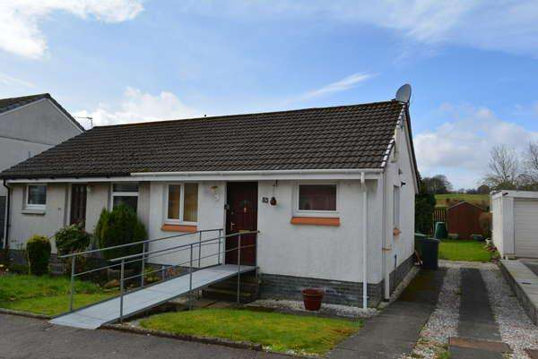 1 Bedroom Semi Detached Bungalow for sale in 53 Lochalsh Crescent, Milton of Campsie, Glasgow, G66 8EY