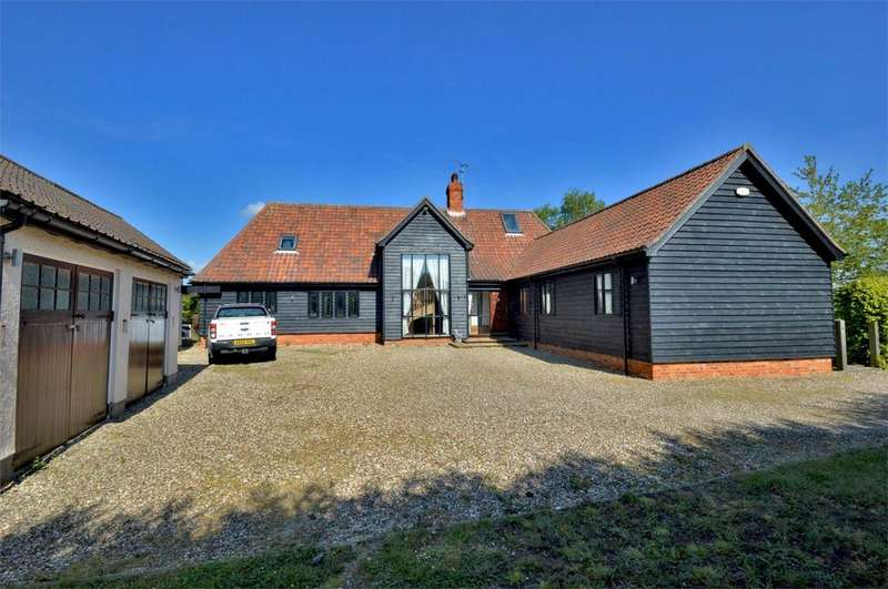 5 Bedrooms Barn Conversion Character Property for sale in New House Lane, Ashdon, Nr Saffron Walden