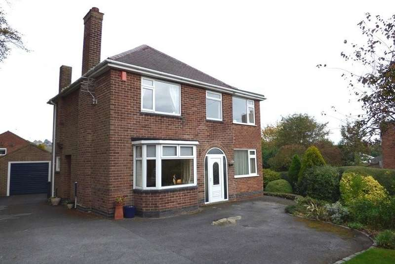 3 Bedrooms Detached House for sale in Newhall, Derbyshire