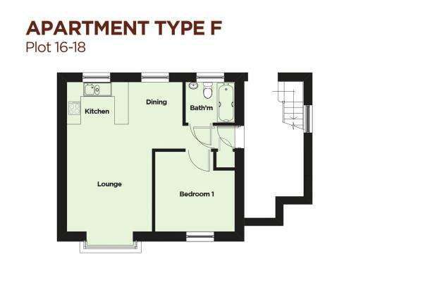 1 Bedroom Flat for sale in Adjacent Bedlands Lane, Budleigh Salterton, Devon