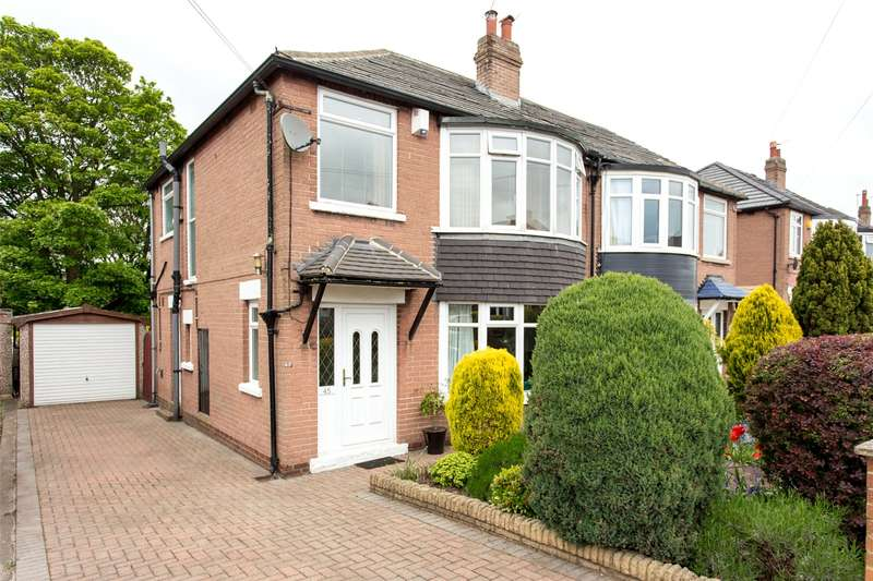 3 Bedrooms Semi Detached House for sale in Shadwell Walk, Leeds, West Yorkshire, LS17