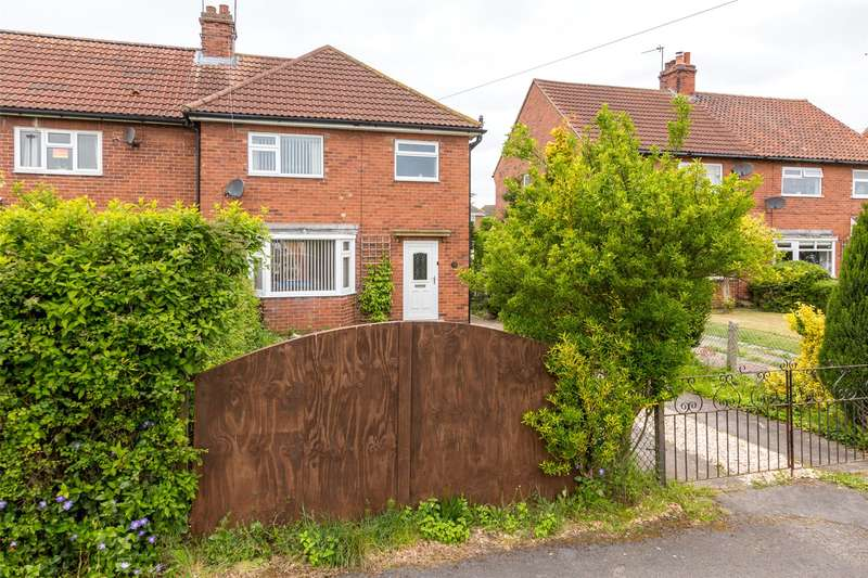 3 Bedrooms End Of Terrace House for sale in Highfield Crescent, Barlby, Selby, YO8