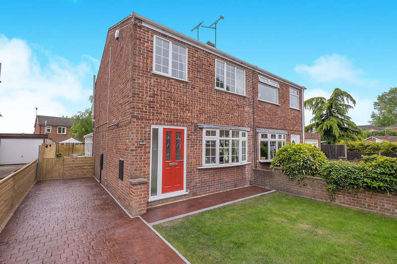 3 Bedrooms Semi Detached House for sale in Mapleton Way, SUTTON-IN-ASHFIELD, NG17