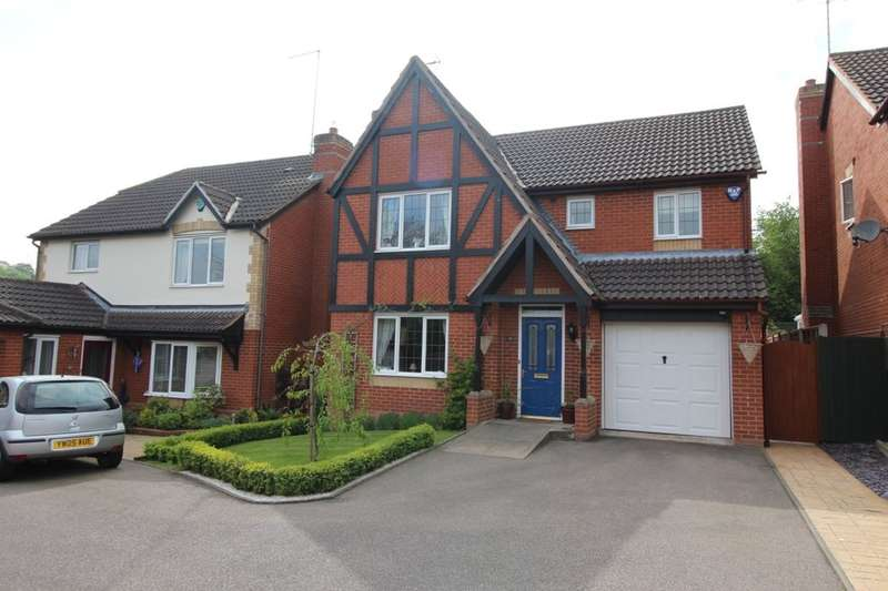 4 Bedrooms Detached House for sale in Forest Edge Way, Burton-On-Trent, DE13