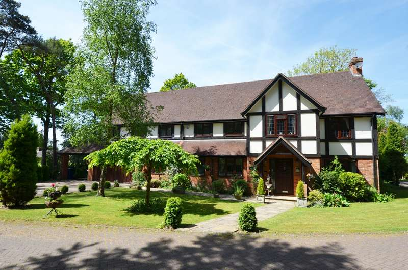 6 Bedrooms Detached House for sale in Woodbank Drive, Chalfont St Giles, HP8