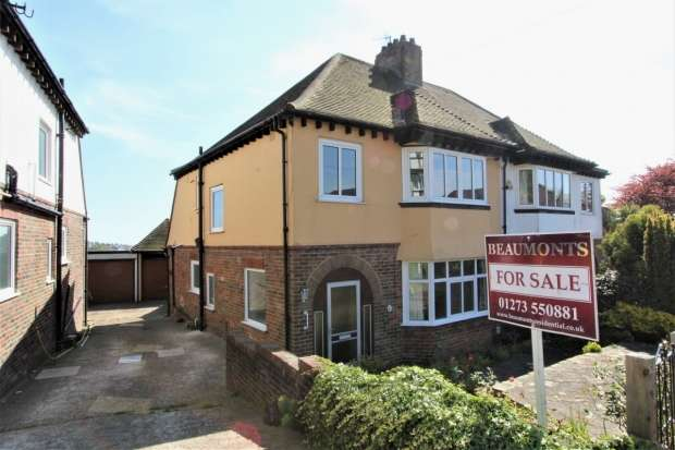 3 Bedrooms Semi Detached House for sale in Friar Crescent Brighton