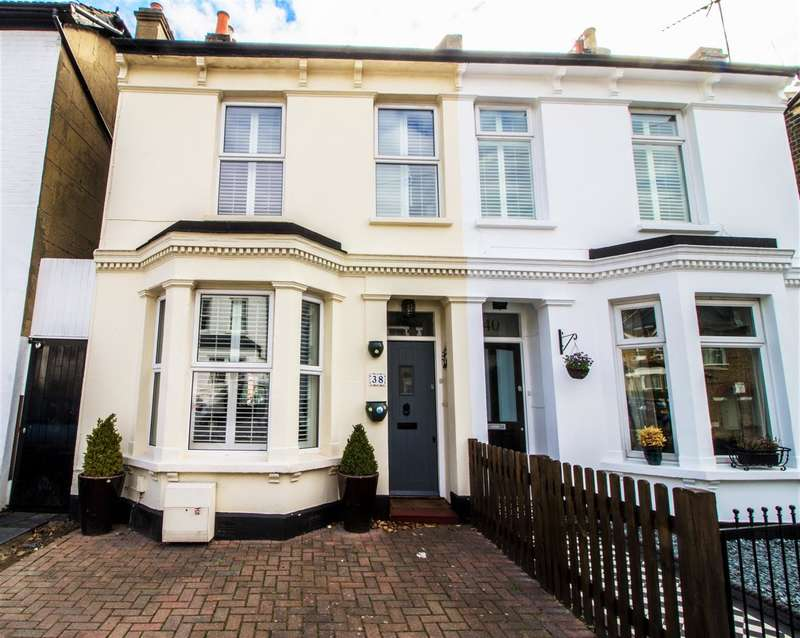 2 Bedrooms Semi Detached House for sale in Graham Road, Wimbledon