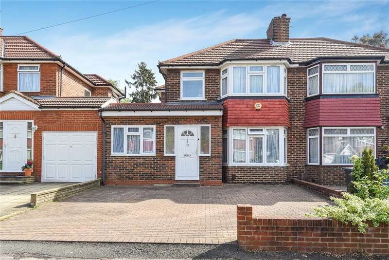 5 Bedrooms Semi Detached House for sale in Wetheral Drive, Stanmore, Middlesex, HA7