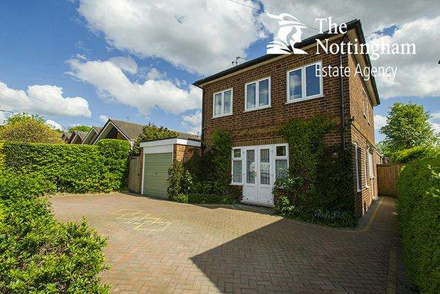 3 Bedrooms Detached House for sale in David Grove, Beeston, Nottingham, NG9