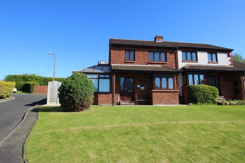 3 Bedrooms Semi Detached House for sale in Blackburn Drive, Carlisle, CA1