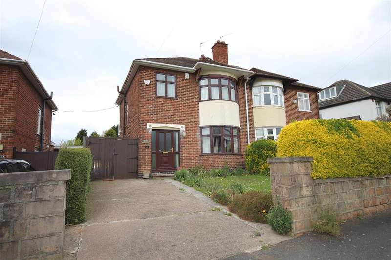 3 Bedrooms Semi Detached House for sale in Mercaston, 121 St Wilfrids Road, West Hallam
