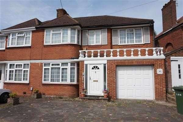 4 Bedrooms Semi Detached House for sale in Weston Drive, Stanmore