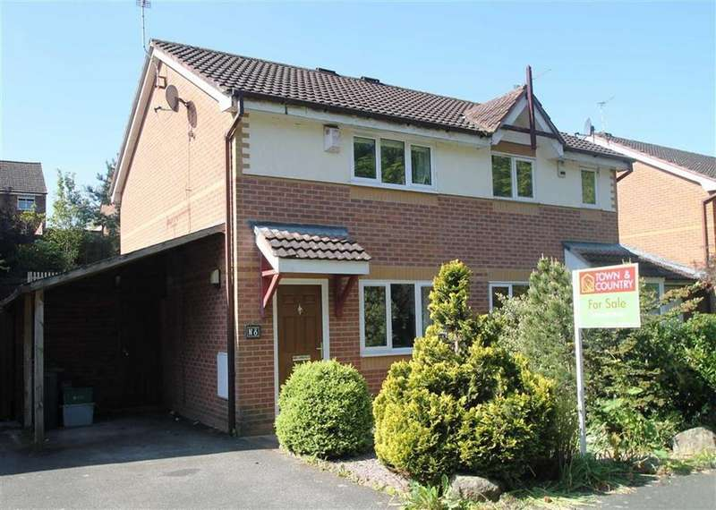 2 Bedrooms Semi Detached House for sale in The Glen, Blacon