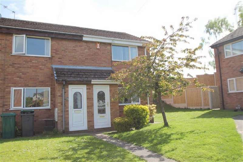 2 Bedrooms End Of Terrace House for sale in Wheatsheaf Mews, Gwersyllt, Wrexham