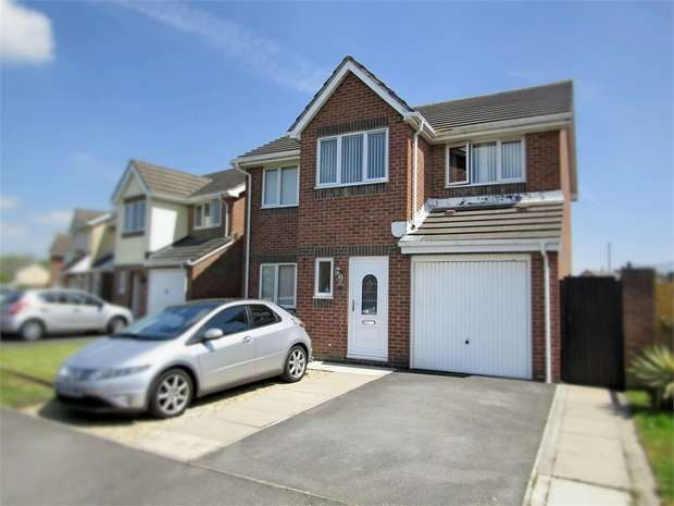 4 Bedrooms Detached House for sale in The Mariners, Llanelli, Carmarthenshire