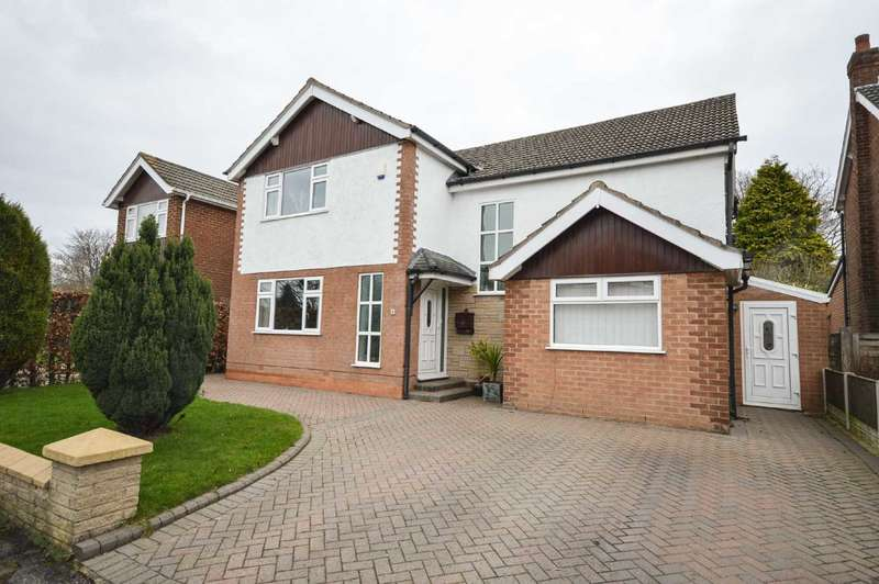 4 Bedrooms Detached House for sale in Sidmouth Grove, Cheadle Hulme