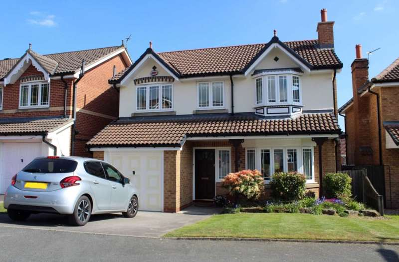 4 Bedrooms Detached House for sale in Cottingley Close, Sharples