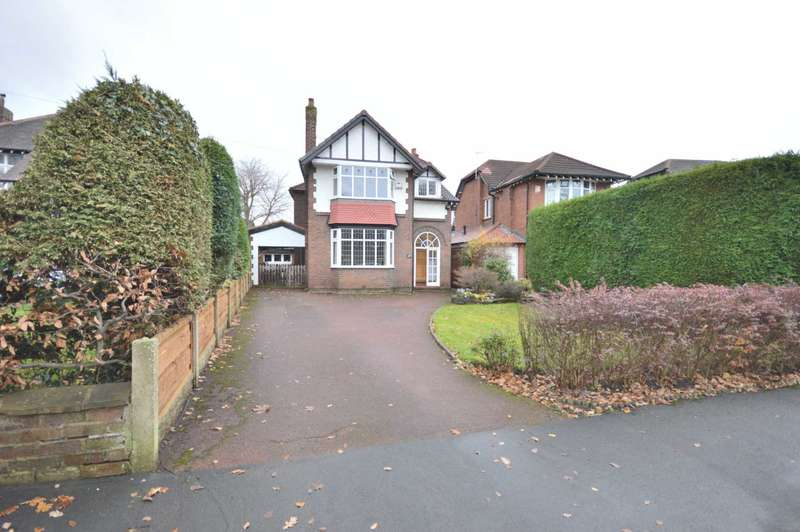 4 Bedrooms Detached House for sale in LADYTHORN ROAD, Bramhall