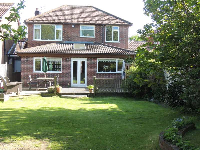 4 Bedrooms Detached House for sale in MILTON DRIVE, POYNTON