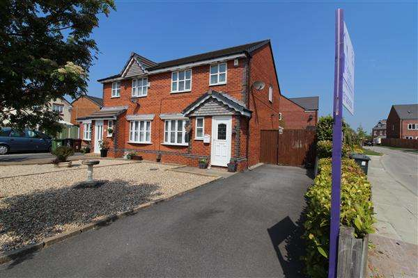3 Bedrooms Semi Detached House for sale in Heartwood Close, Orrel Park