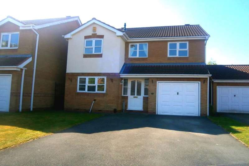 4 Bedrooms Detached House for sale in Penmoor Close, Long Eaton, Nottingham, NG10