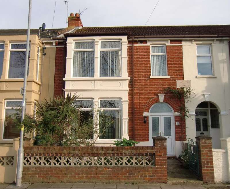 3 Bedrooms Terraced House for sale in Kensington Road, Copnor, Portsmouth PO2