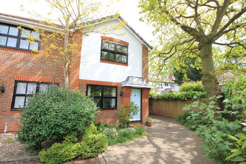 2 Bedrooms Semi Detached House for sale in Springfield Mews, Surley Row, Emmer Green, Reading, RG4