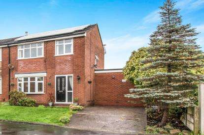 3 Bedrooms Semi Detached House for sale in Canaan, Lowton, Warrington, Cheshire