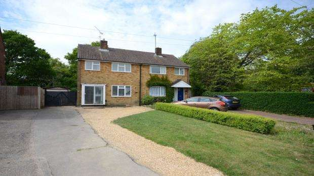 3 Bedrooms Semi Detached House for sale in Haddon Drive, Woodley, Reading