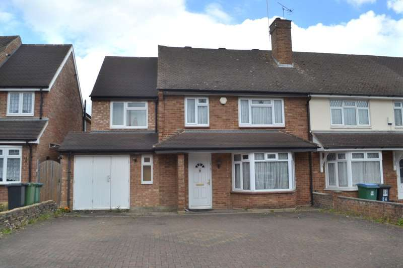 5 Bedrooms Semi Detached House for sale in Westlea Avenue, Garston, Watford