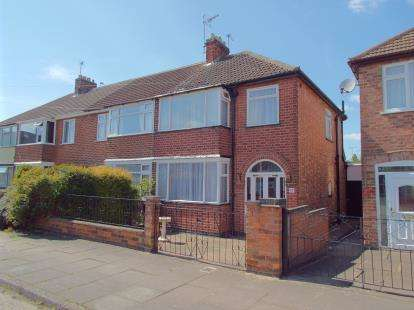 3 Bedrooms End Of Terrace House for sale in Shropshire Road, Aylestone, Leicester, Leicestershire