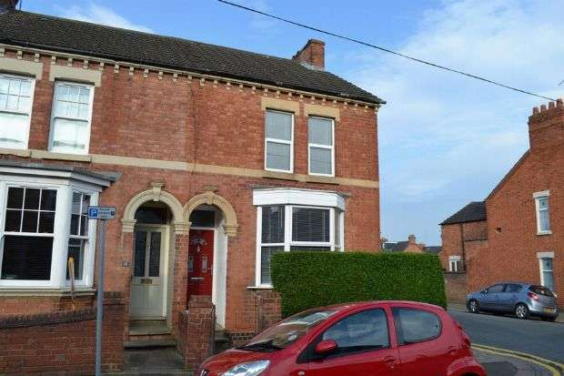 3 Bedrooms End Of Terrace House for sale in Glasgow Street, St James, Northampton NN5 5BN