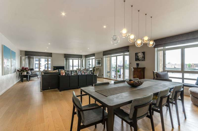 3 Bedrooms Flat for sale in St Hildas Wharf, Wapping, E1W