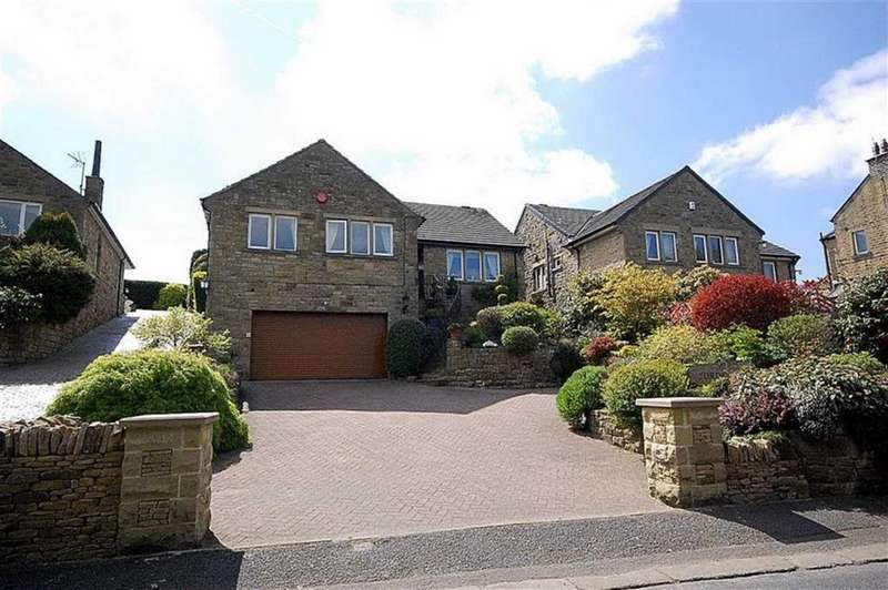 4 Bedrooms Detached House for sale in Banks, Honley, Holmfirth, HD9