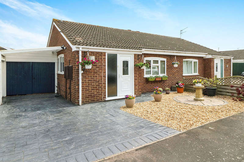 2 Bedrooms Semi Detached Bungalow for sale in Hereford Close, LEICESTER, LE9