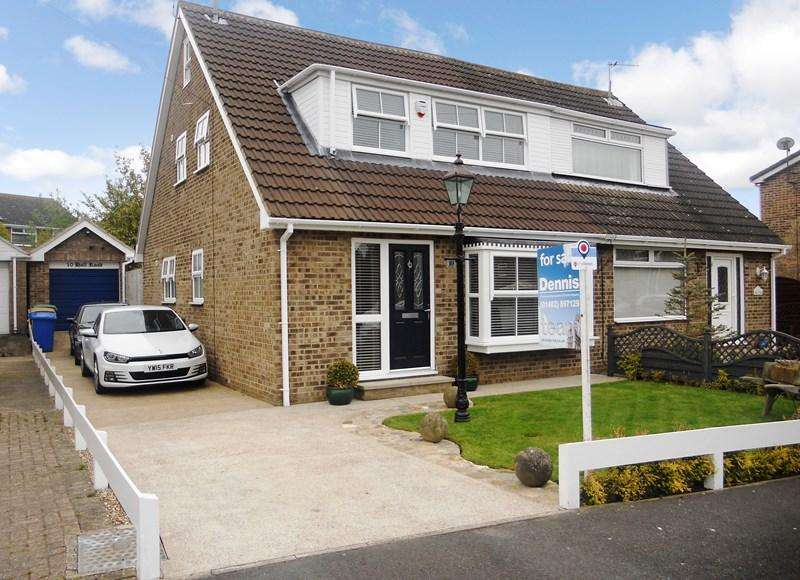 4 Bedrooms Semi Detached House for sale in Hall Road, Sproatley, Hull