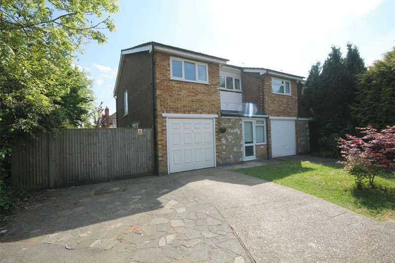 3 Bedrooms Semi Detached House for sale in Vincent Drive, Shepperton, Surrey
