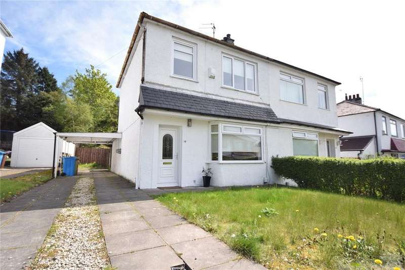 2 Bedrooms Semi Detached House for sale in Clifton Road, Giffnock, Glasgow