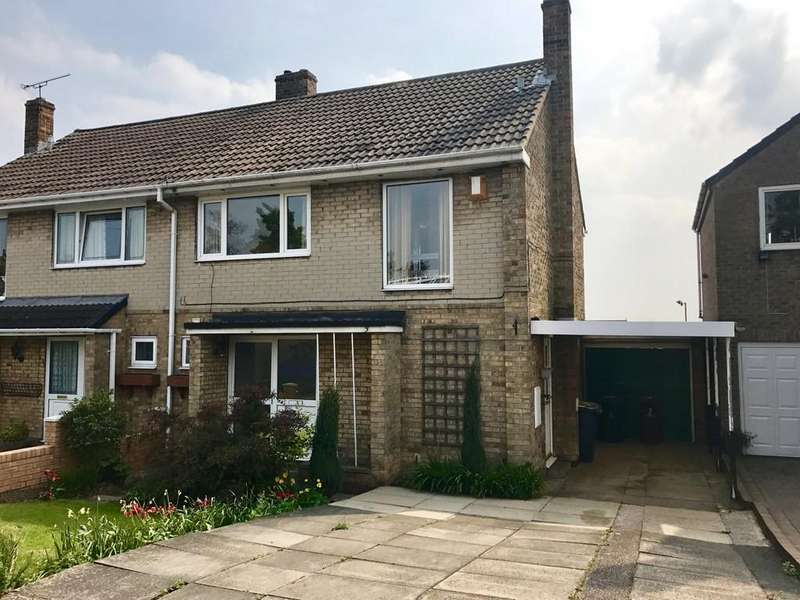 3 Bedrooms Semi Detached House for sale in Hall Grove, Staincross, Barnsley S75