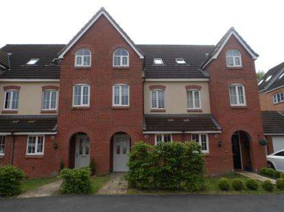 3 Bedrooms Town House for sale in Chervil Close, Newcastle, Staffordshire