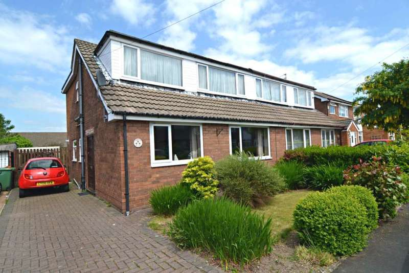4 Bedrooms Semi Detached House for sale in Annette Avenue, Newton Le Willows