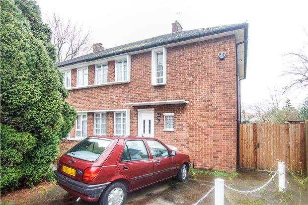 3 Bedrooms Semi Detached House for sale in Slough Lane, KINGSBURY, NW9 8XT