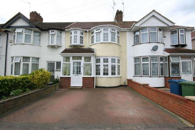 3 Bedrooms Terraced House for sale in Tonbridge Crescent, Kenton HA3