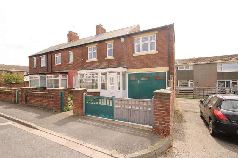 3 Bedrooms End Of Terrace House for sale in Morison Gardens, Headland, Hartlepool