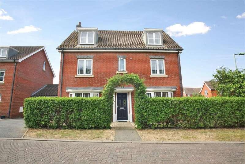 5 Bedrooms Detached House for sale in Hercules Road, Rendlesham, Woodbridge