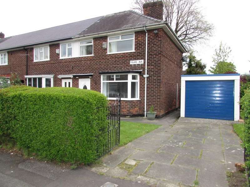 3 Bedrooms End Of Terrace House for sale in Tours Avenue, Manchester