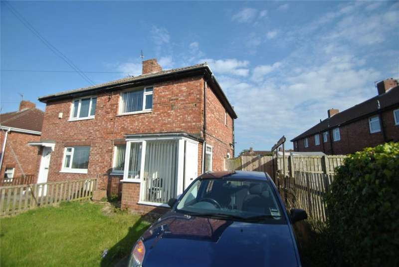 2 Bedrooms Semi Detached House for sale in Luke Crescent, Murton, Seaham, Co. Durham, SR7