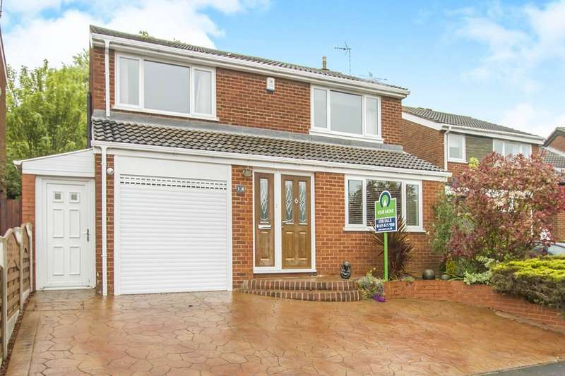 4 Bedrooms Detached House for sale in Hayes End, Desford, Leicester, LE9