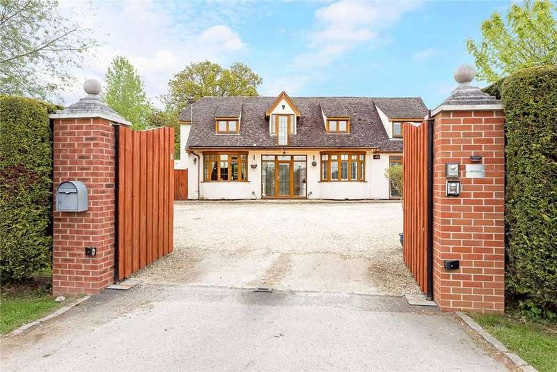 5 Bedrooms Detached House for sale in Badgeworth Lane, Badgeworth, Cheltenham, Gloucestershire, GL51